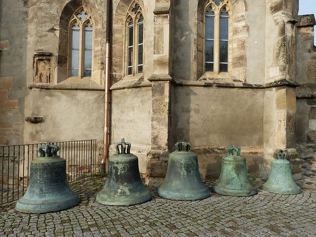 Bells, Church, Magdeburg, Saxony-anhalt, Old Town