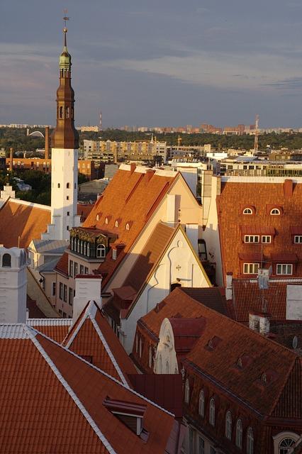 Estonia, Tallinn, Old Town