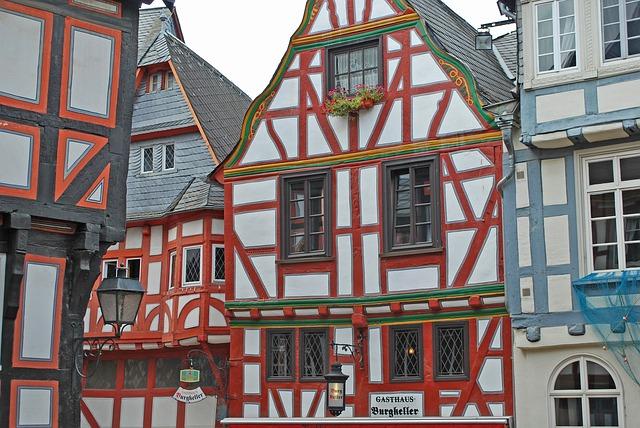 Limburg, Fachwerkaeuser, Fachwerkhaus, Truss, Old Town