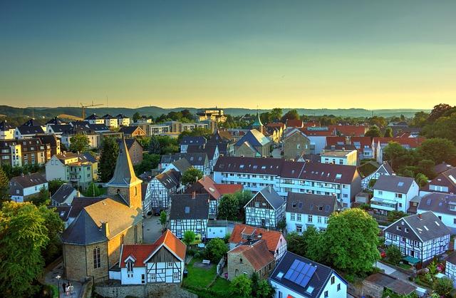 Fachwerkhaus, City, Hattingen, Old Town, Germany