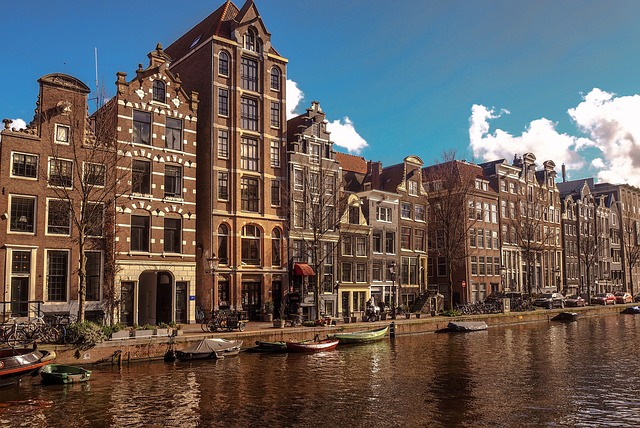 Amsterdam, Canal, Old Town, Europe, Holland