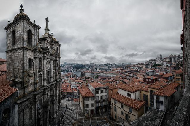 Porto, Church, Old Town, Tourism, Facade, Historically