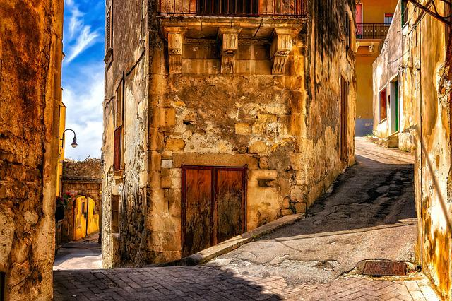 Alley, Away, Eng, Old Town, Passage, Road, Architecture