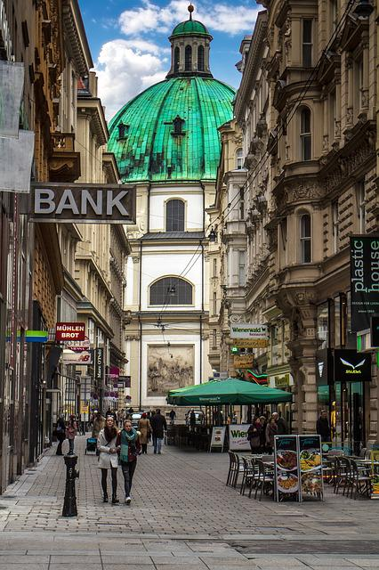 Vienna, Old Town, Road, Architecture, Church
