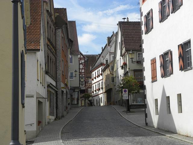 Munderkingen, Old Town, Timber Framed Building