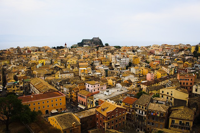 Greece, Corfu, Old Town, Summer, Kerkira, Venizianisch