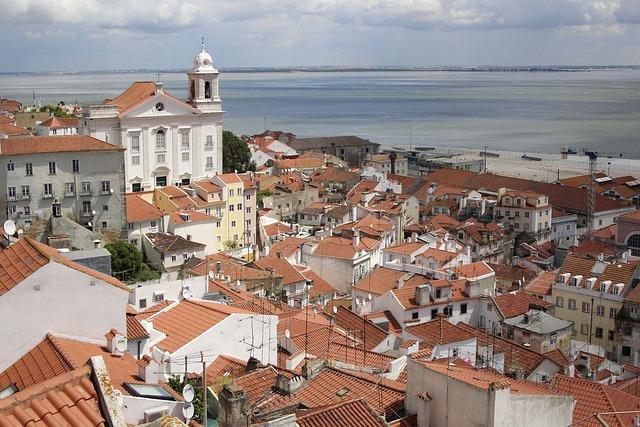 Lisbon, Portugal, Lisboa, Old Town, View, City