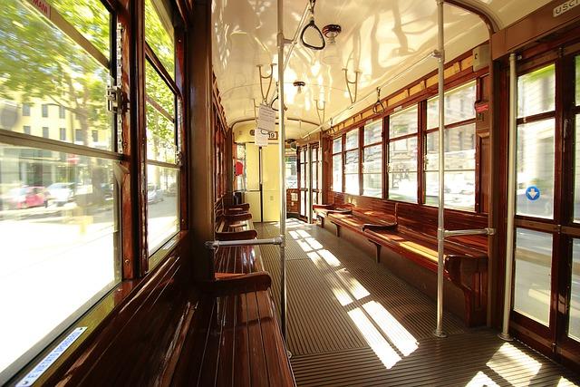Tram, Milan, Public Transport, Wood, Old