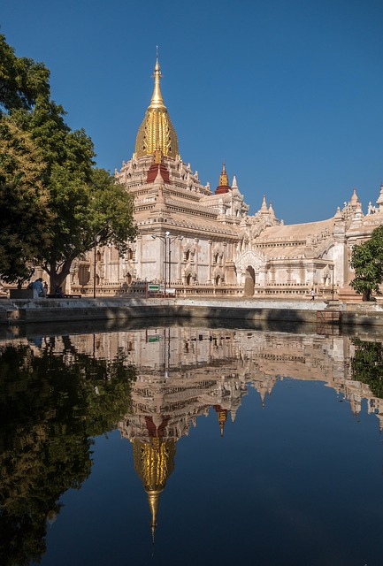 Architecture, Travel, Building, Old, Temple, Myanmar