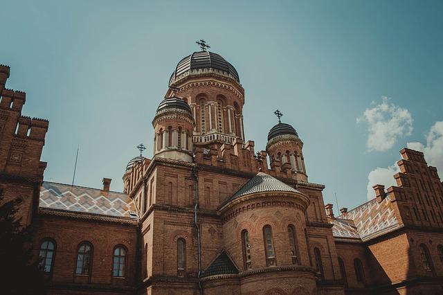 Ukraine, Cathedral, Church, Religion, Architecture, Old