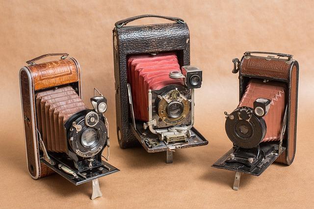 Cameras, Old, Nostalgia, Vintage, Classic, Old Cameras
