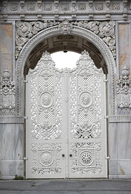 Door, Architecture, White, Frontline, Old, Daniel