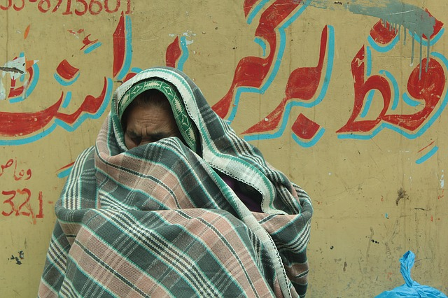 Refugee, Old, Woman, Portrait, Cry, Blanket, People