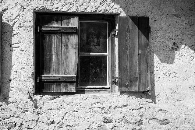 Window, Old, Old Window, Wooden Shutters, Facade