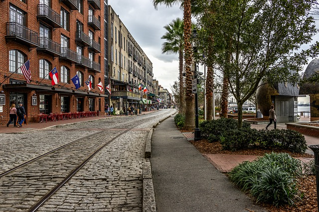 Savannah, Georgia, River Street, Oldest City
