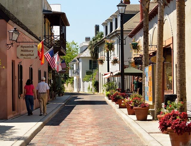Aviles Street, Oldest Street Usa, Historic