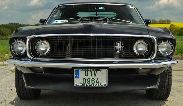 Ford, Mustang, Old, Tsar, Oldschool, 1969