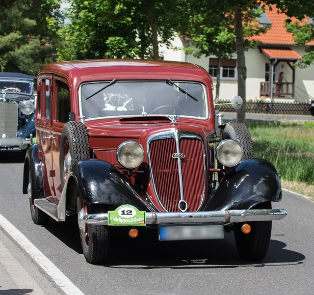 Auto, Auto Union, Wanderer, Oldtimer, Automotive