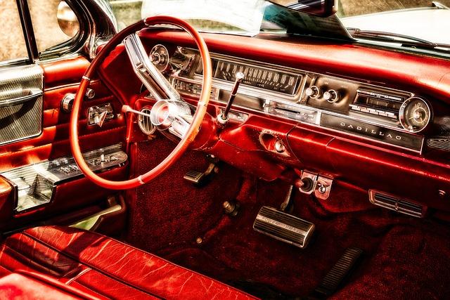 Auto, Oldtimer, Cadillac, Vehicle, Automotive, Classic