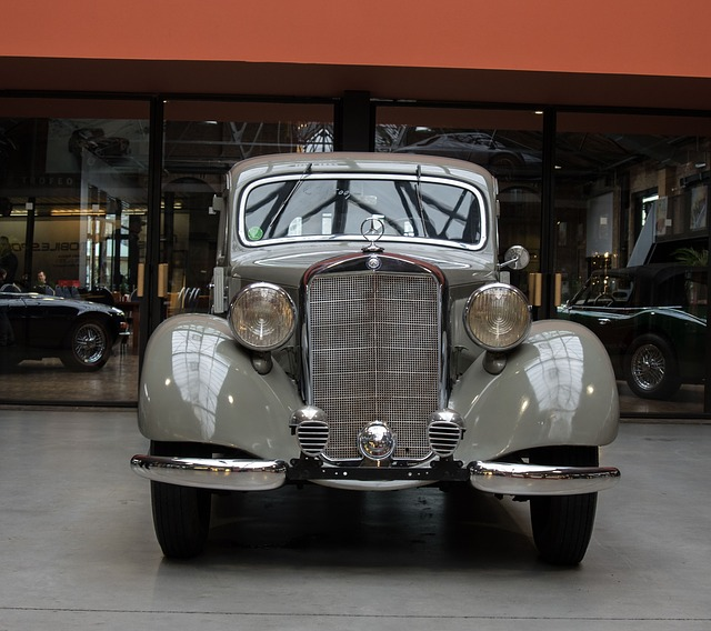 Auto, Mercedes, Oldtimer, Classic, Vehicle