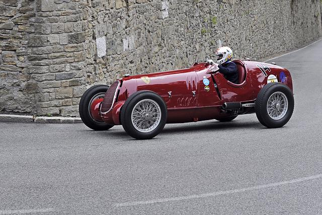 Alfa Romeo 12c, Bergamo, Classic, Car, Oldtimer