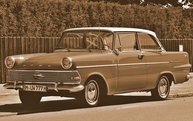 Opel, Opel Record, Auto, Classic, Oldtimer, Record