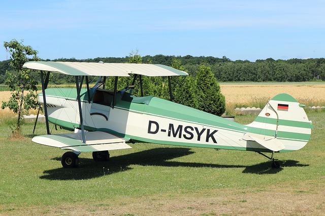 Double Decker, M17, Oldtimer, Propeller Plane