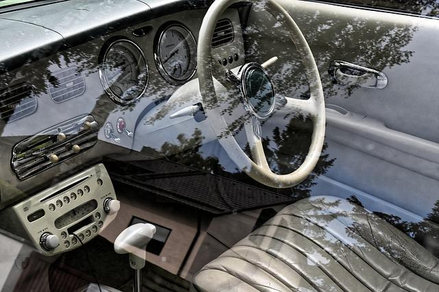 Nissan, Figaro, Interior, Auto, Oldtimer, Youngtimer