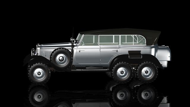 Oldtimer, Auto, Offroad, Suv, State Karosse, Pkw