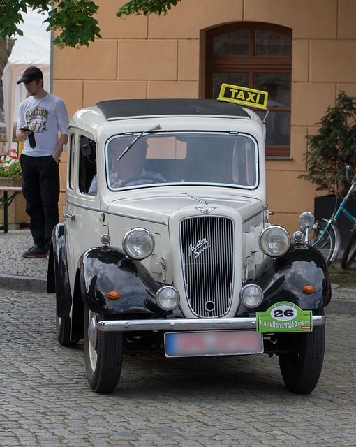 Taxe, Austin, Oldtimer, Classic, Vehicle, Auto