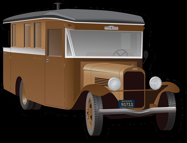 Automobile, Oldtimer, Camper, Truck, Car, Vintage