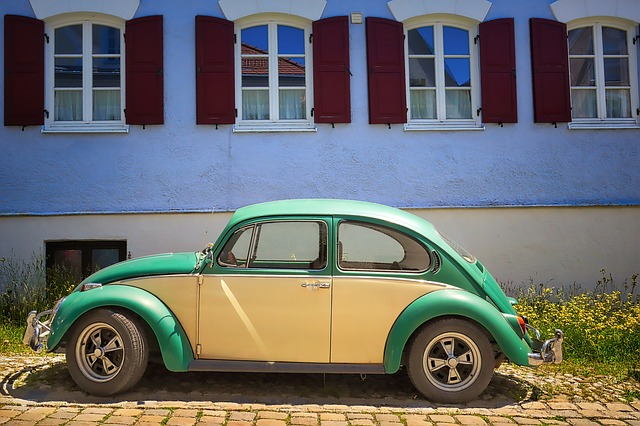 Auto, Vehicle, Vw, Volkswagen, Beatle, Oldtimer