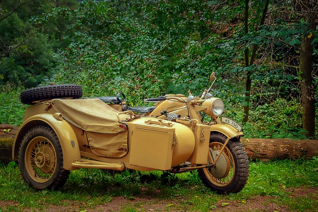 Motorcycle, Old, Oldtimer, Zündapp, Two Wheeled Vehicle
