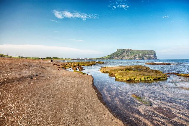 Jeju, Jeju Island, Sunrise Salary, Olle Gill, Nature