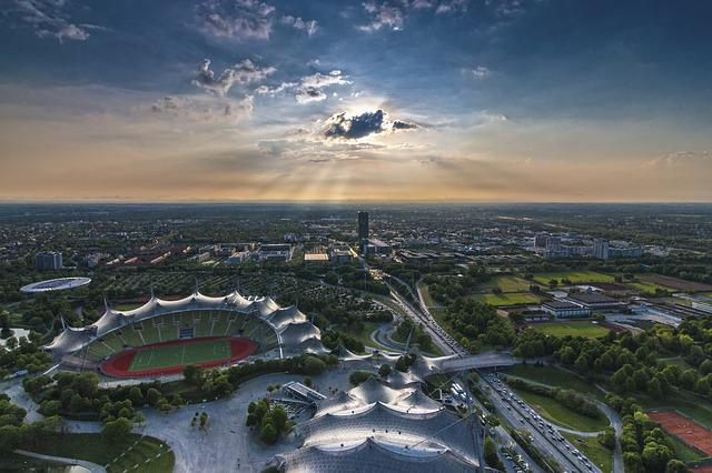 Munich, Olympia Tower, Tv Tower, Olympia, Olympic Park
