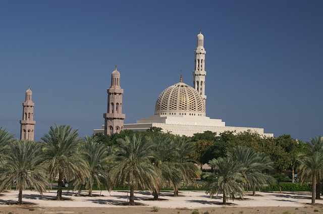 Oman, Muscat, Mosque