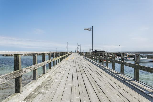 Waters, Sea, Sky, Pier, Bridge, On The Water, Web