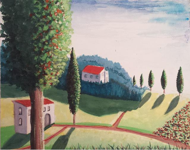 Weekend, On To Tuscany, Landscape