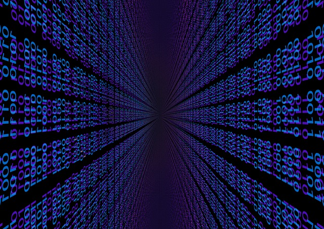Binary, Null, One, Digital, Blue, Effect, Elements