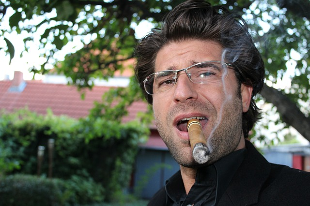 Cigar, One, Smoke, Benefit From, Portrait, Tobacco