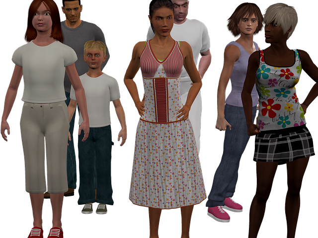 Crowd, Woman, One, Child, Png, Group