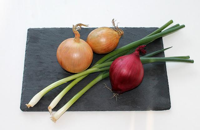 Onion, Food, Red Onion, Spring Onions, Root Vegetable