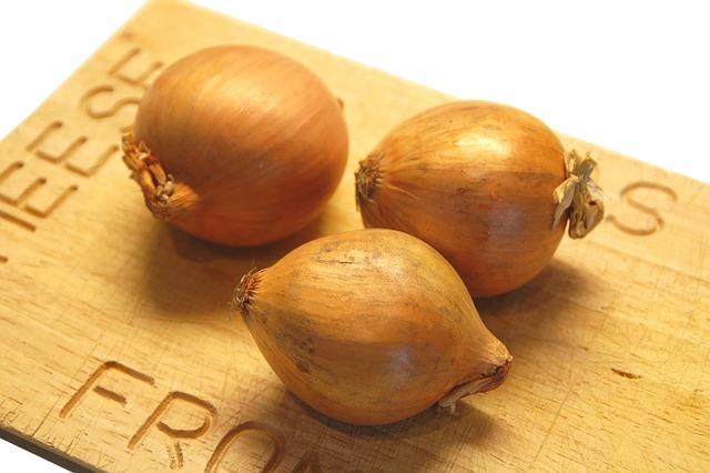 Food, Healthy, Wood, Shelf, Onions