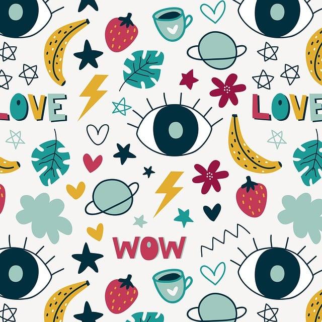Wallpaper, Background, Cute, Design, Set, Hand, Online