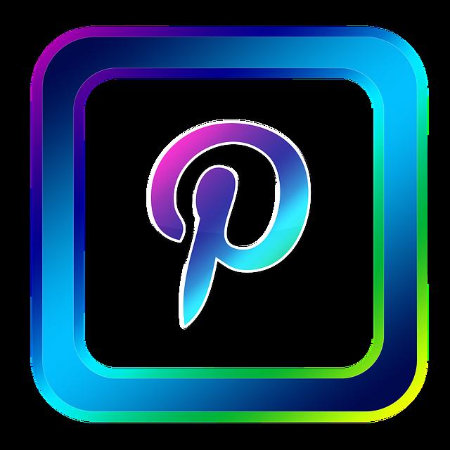 Icon, Pinterest, Symbols, Online, Internet, Www, Web