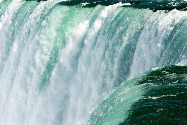 Water, Waterfalls, Niagara, Niagara Falls, Ontario