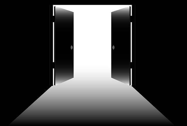Open Doors, Open, Exit, Doorway, Freedom, Opportunity