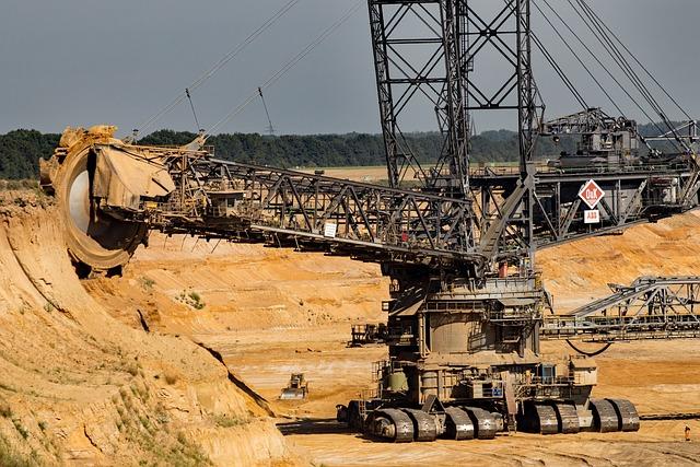 Garzweiler, Brown Coal, Open Pit Mining