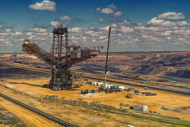 Brown Coal, Open Pit Mining, Garzweiler, Industry