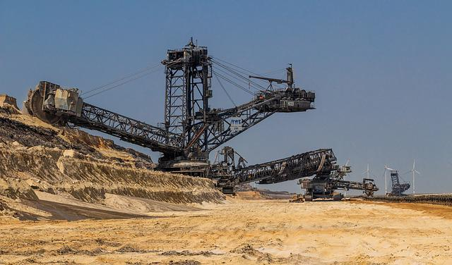 Open Pit Mining, Bucket Wheel Excavators, Excavators